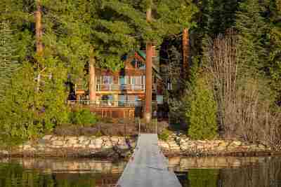 Tahoe City CA Single Family Home For Sale: $5,250,000