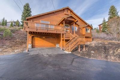 Truckee Single Family Home For Sale: 11550 Rhineland Avenue