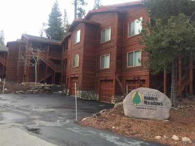 Truckee Condo/Townhouse For Sale: 12698 Hidden Circle #2