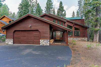 Truckee, Soda Springs, Carnelian Bay, Olympic Valley Single Family Home For Sale: 15015 Swiss Lane