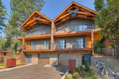 Tahoe City Condo/Townhouse For Sale: 1365 North Lake Boulevard
