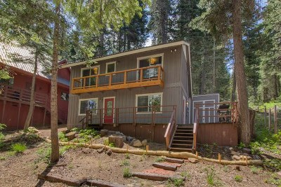 Truckee CA Single Family Home For Sale: $489,000