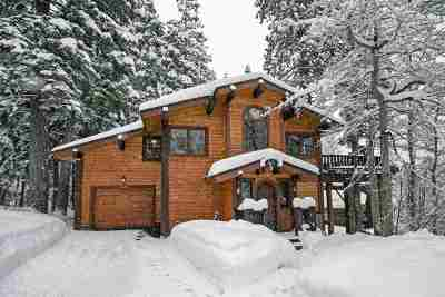 Alpine Meadows Single Family Home For Sale: 1558 Juniper Mountain Road