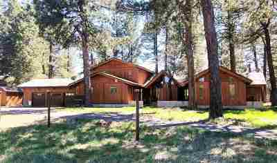 Truckee CA Single Family Home For Sale: $1,100,000