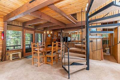 Tahoe City Single Family Home For Sale: 950 Pine Ridge Road