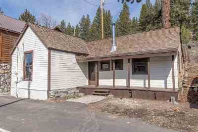 Truckee Single Family Home For Sale: 10310 Trout Creek Road