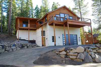 Truckee, Soda Springs, Carnelian Bay, Olympic Valley Single Family Home For Sale: 10845 Laurelwood Drive
