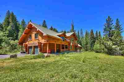 Truckee, Soda Springs, Carnelian Bay, Olympic Valley Single Family Home For Sale: 11979 Stony Creek Court