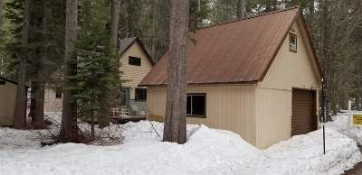 Truckee Single Family Home For Sale: 15800 Cottonwood Street