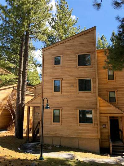 Truckee Condo/Townhouse For Sale: 5074 Gold Bend