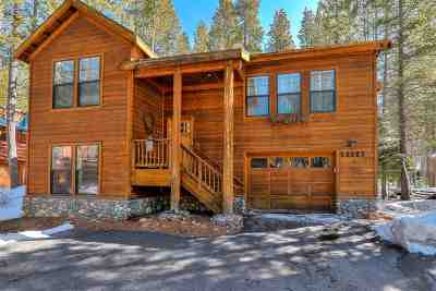 Truckee CA Single Family Home For Sale: $649,000