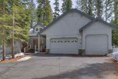 Truckee CA Single Family Home For Sale: $999,000