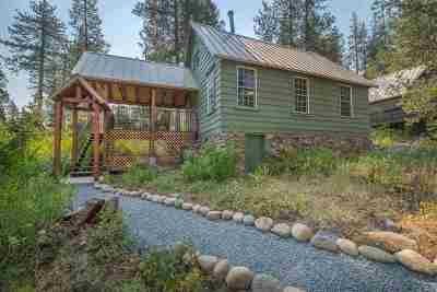 Soda Springs Single Family Home For Sale: 25 S Yuba Drive