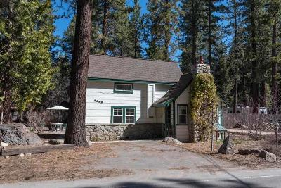 Tahoe City, Kings Beach, Carnelian Bay Single Family Home For Sale: 2605 Lake Forest Road