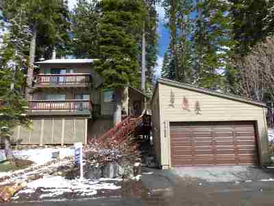 Tahoe City CA Single Family Home For Sale: $649,000