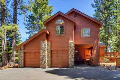 Tahoe Donner Single Family Home Contingent: 11909 Bavarian Way