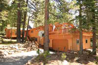 Tahoe City CA Single Family Home For Sale: $1,399,000