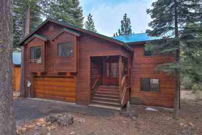 Tahoe City, Tahoe Vista, Carnelian Bay Single Family Home For Sale: 1293 Jester Court