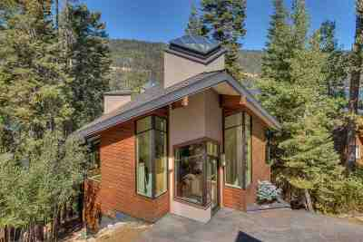 Donner Lake Single Family Home For Sale: 14234 South Shore Drive
