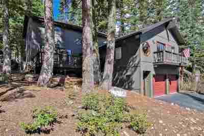 Tahoe Vista Single Family Home For Sale: 1384 Kings Vista Court