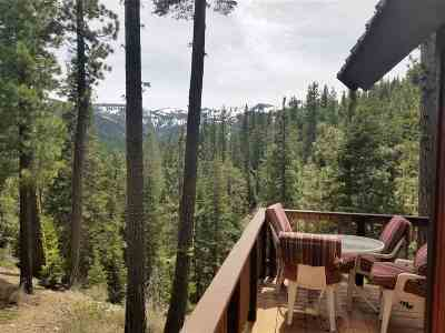 Donner Lake Single Family Home For Sale: 8975 Cold Stream Road
