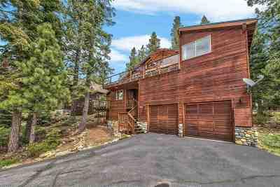 Tahoe Donner Single Family Home For Sale: 11746 Kitzbuhel Road