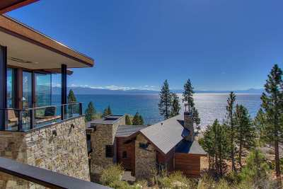 Tahoe Vista CA Single Family Home For Sale: $6,250,000