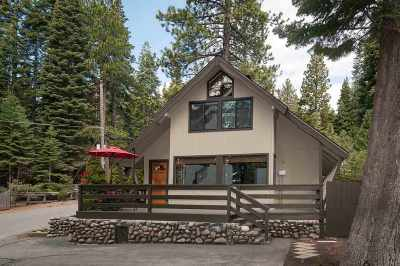 Tahoe City, Tahoe Vista, Carnelian Bay Single Family Home For Sale: 4065 North Lake Boulevard