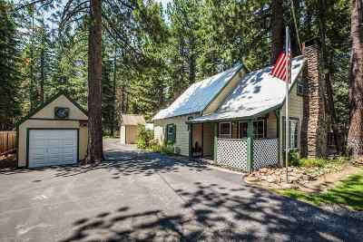 Tahoe City Single Family Home For Sale: 1975 West Lake Boulevard