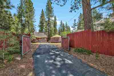 Tahoe City, Tahoe Vista, Kings Beach, Carnelian Bay Single Family Home For Sale: 8265 Speckled Avenue