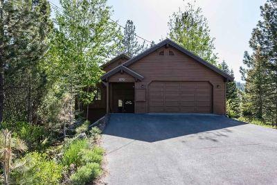 Tahoe Donner Single Family Home For Sale: 12721 Pinnacle Loop