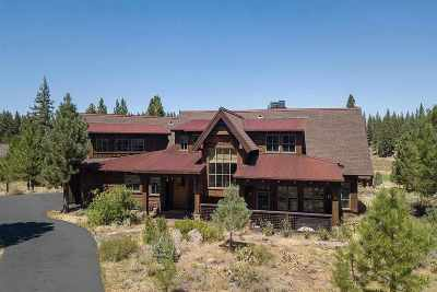 Martis Valley Single Family Home For Sale: 10287 Dick Barter