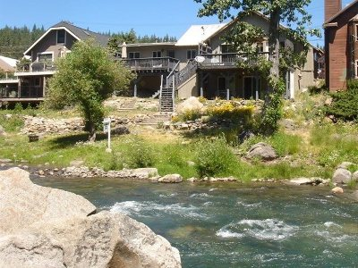 Truckee, Soda Springs, Carnelian Bay, Olympic Valley Multi Family Home For Sale: 10153 Riverside Drive