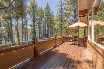 Donner Lake Single Family Home For Sale: 10027 Summit Drive