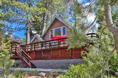 Tahoe City, Tahoe Vista, Kings Beach, Carnelian Bay Single Family Home For Sale: 1880 Toboggan Road