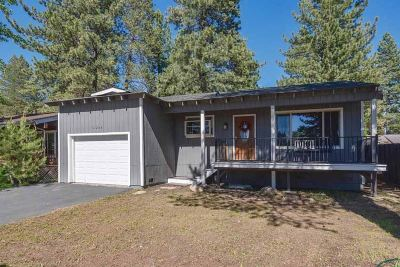 Truckee Single Family Home For Sale: 11235 Tahoe Drive
