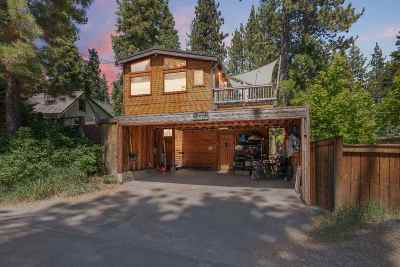 Tahoe City Multi Family Home For Sale: 330 Red Cedar Street