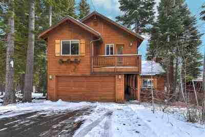 Tahoe City, Tahoe Vista, Carnelian Bay Single Family Home For Sale: 3670 Lacrosse Drive