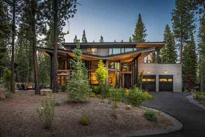 Truckee CA Single Family Home For Sale: $4,300,000