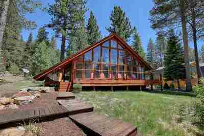 Olympic Valley Single Family Home For Sale: 350 Forest Glen Road