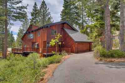 Tahoe City CA Single Family Home For Sale: $989,000