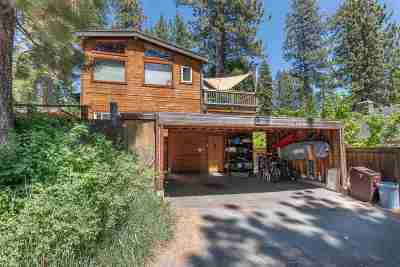 Tahoe City CA Multi Family Home For Sale: $999,000