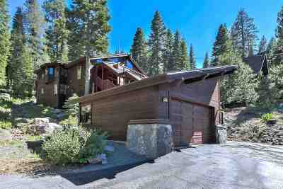 Alpine Meadows CA Single Family Home For Sale: $1,295,000