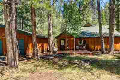Truckee Single Family Home For Sale: 14296 Glacier View Road