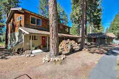 Tahoe City CA Multi Family Home For Sale: $935,000