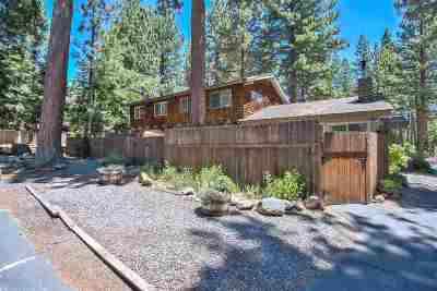 Tahoe City CA Multi Family Home For Sale: $885,000