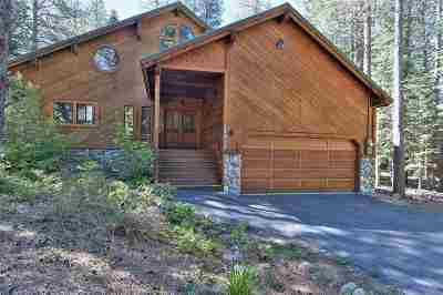 Truckee, Soda Springs, Carnelian Bay, Olympic Valley Single Family Home For Sale: 14912 Swiss Lane