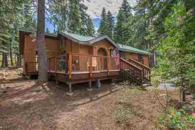 Truckee Single Family Home For Sale: 13443 Davos Drive