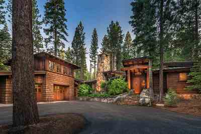 Truckee Single Family Home For Sale: 12236 Pete Alvertson