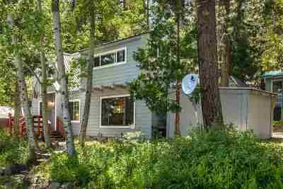 Tahoe City CA Multi Family Home For Sale: $1,000,000